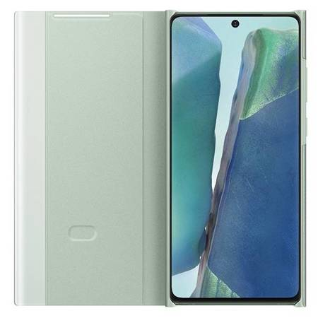 Etui Samsung EF-ZN980CM Note 20 N980 miętowy/mint Clear View Cover