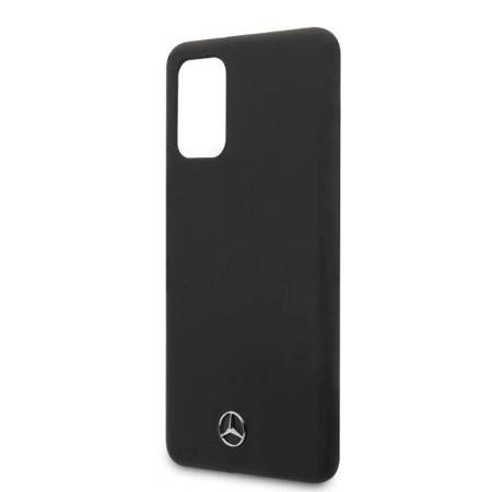 Mercedes MEHCS67SILSB S20+ G985 hard case czarny/black Silicone Line