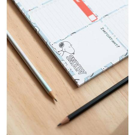 Snoopy - Planner tygodniowy A4