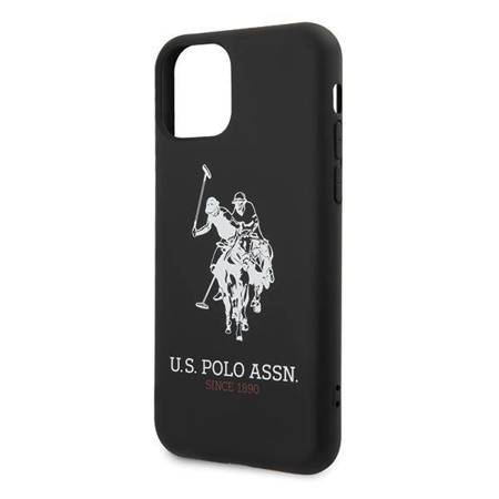 US Polo USHCN58SLHRBK iPhone 11 Pro czarny/black Silicone Collection