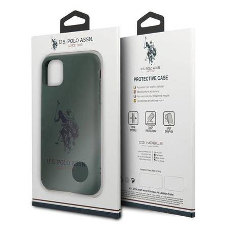 US Polo USHCN65SLHRGN iPhone 11 Pro Max zielony/green Silicone Collection